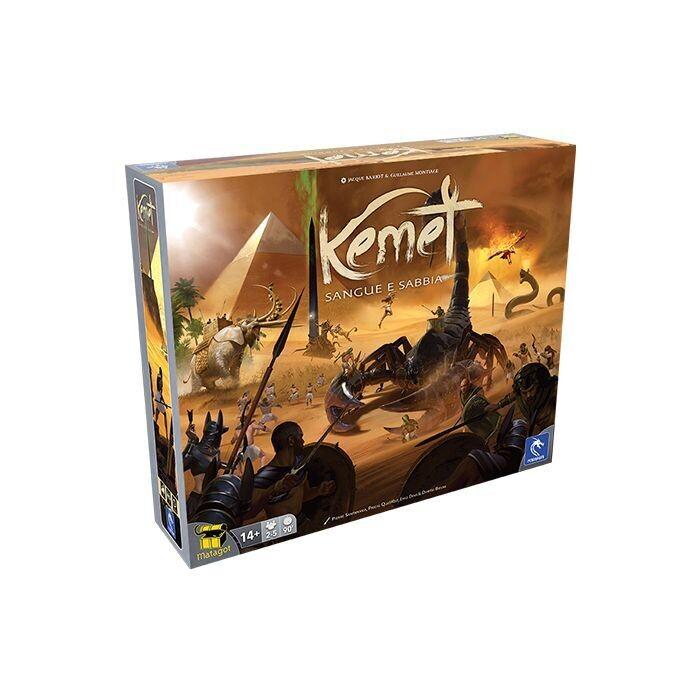 Kemet - Sangue e Sabbia: Il Libro dei Morti  -dal 30/09/2021