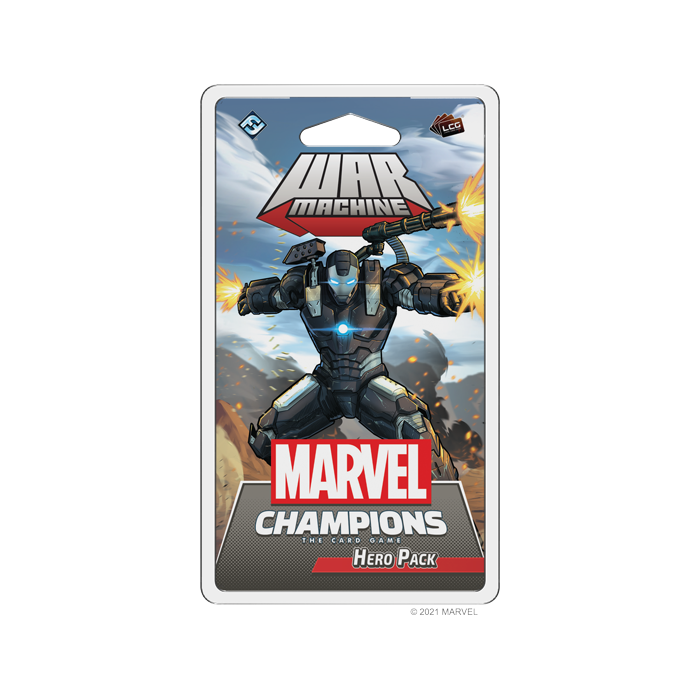 Marvel Champions - LCG: War Machine -dal 31/10/2021