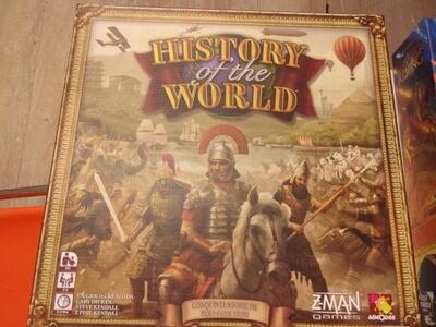 HISTORY OF THE WORLD -gioco usato-