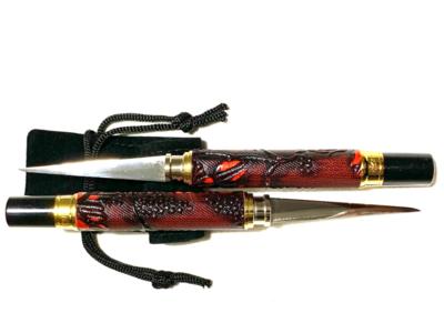 Kit. 2 Stiletti Thai - Bordeaux