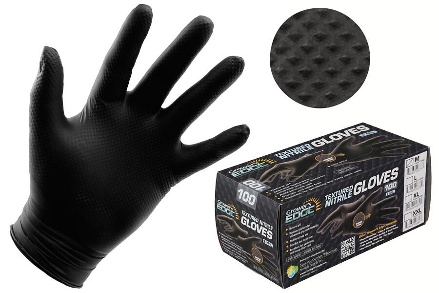 Grower's Edge Powder Free Nitrile Gloves 6 mil