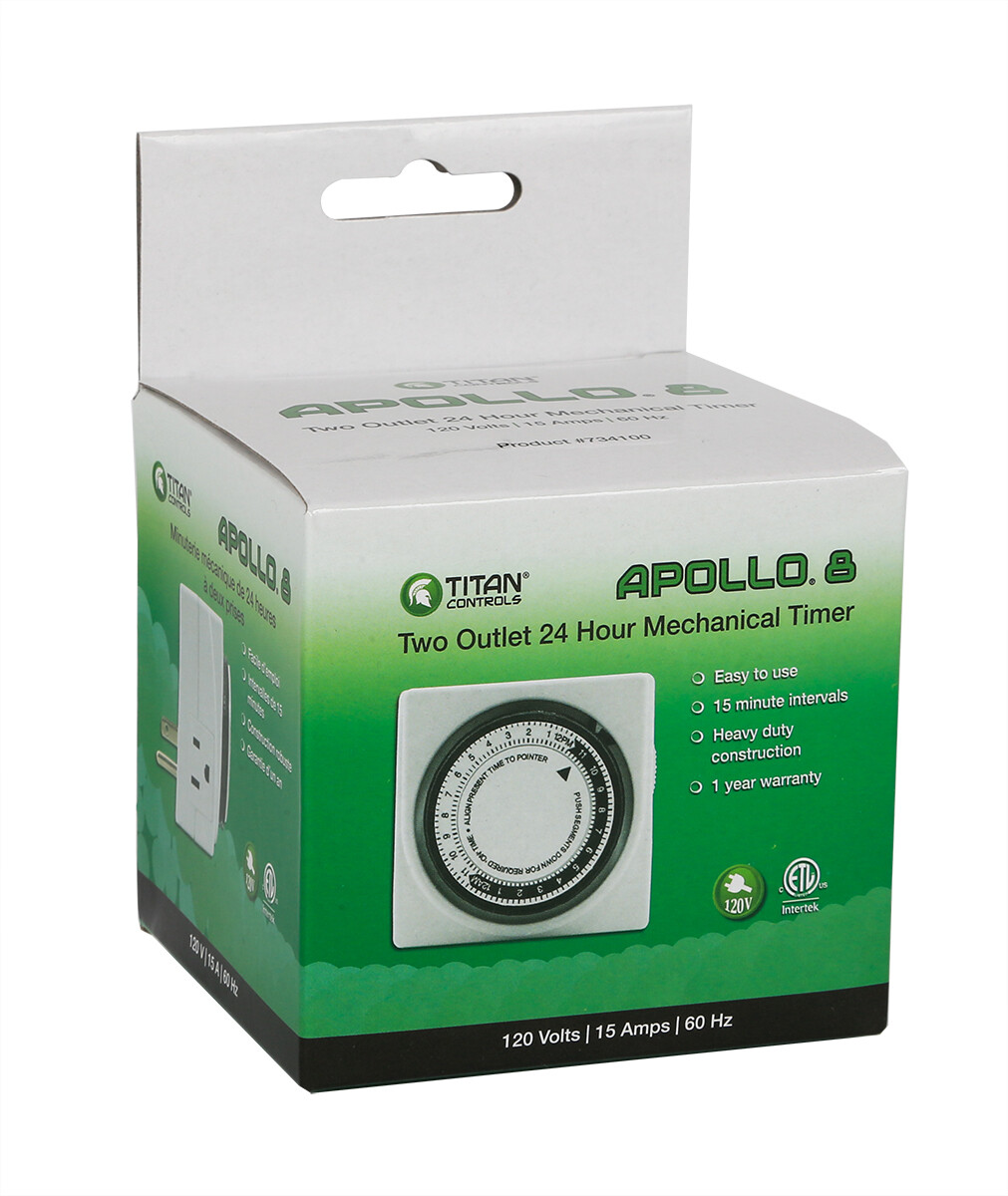 Titan Controls Apollo Mechanical Timer