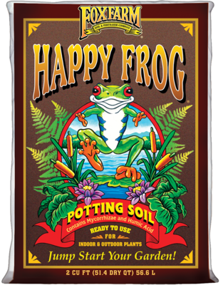 Fox Farm Happy Frog Potting Soil