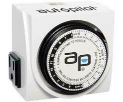 Auto Pilot Dual Outlet Analog Timer