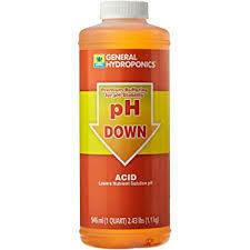 General Hydroponics PH Down Liquid