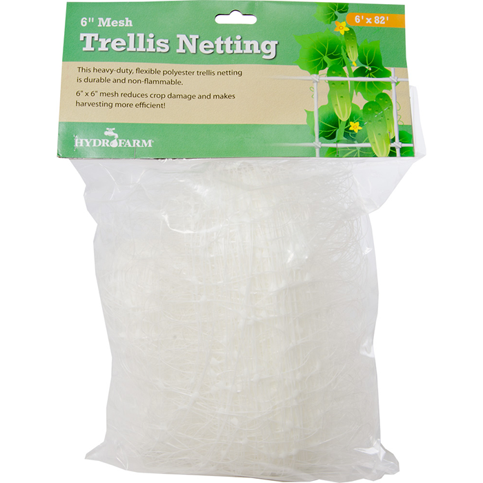 "Hydrofarm Trellis Netting 6"" Woven"