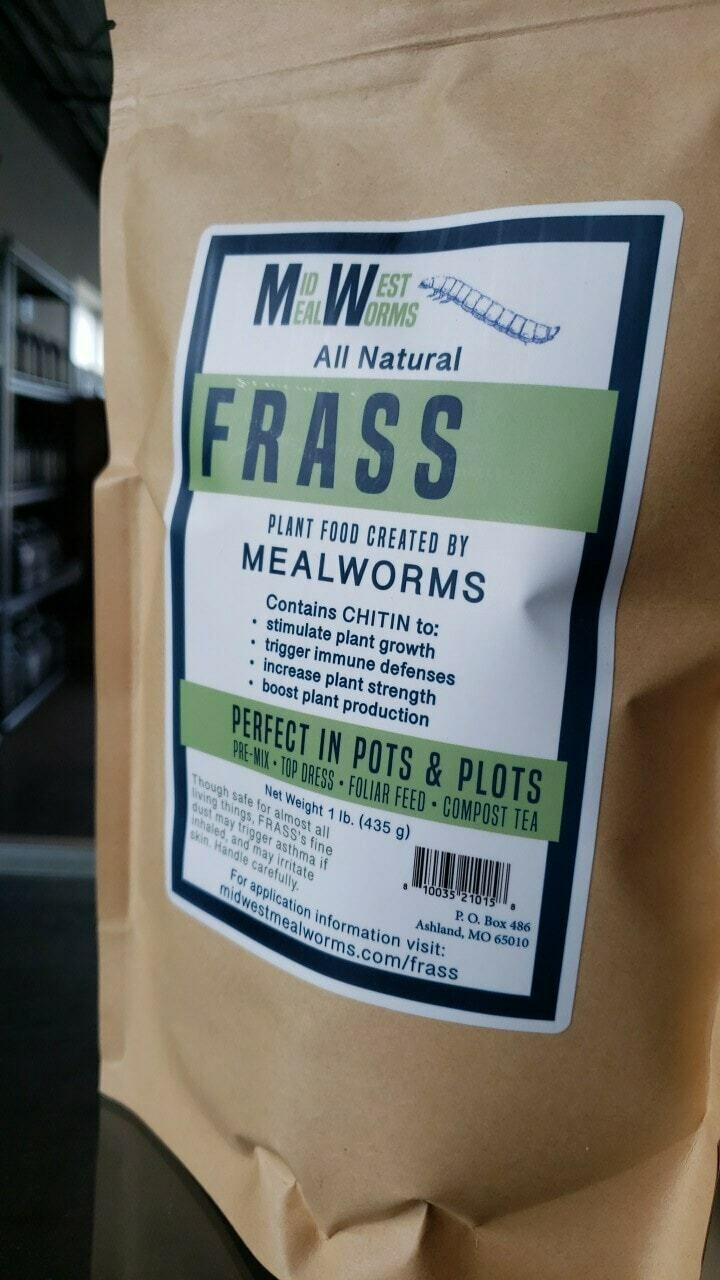 Midwest Mealworm Frass