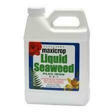 MaxiCrop Liquid Seaweed Plus Iron 2%