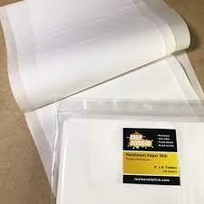 Rosin Evolution Parchment Paper