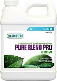 Botanicare Pure Blend Pro Grow