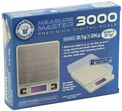Measure Master 3000g Digital Table Top Scale