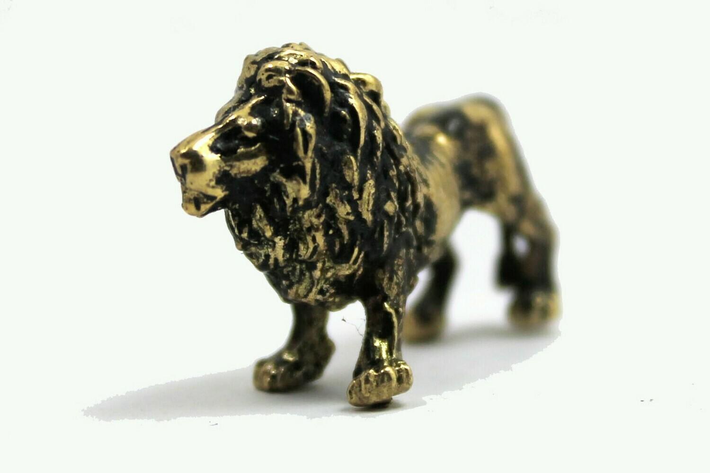 Brass Figurine - Lion