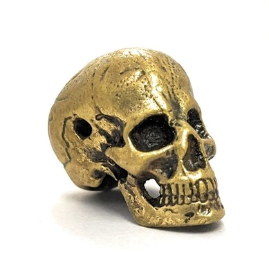 Skull Knife Handle Bead