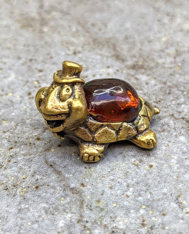 Turtle Keychain Figurine
