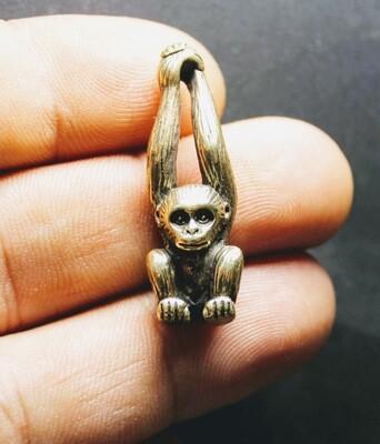 Brass Monkey Figurine