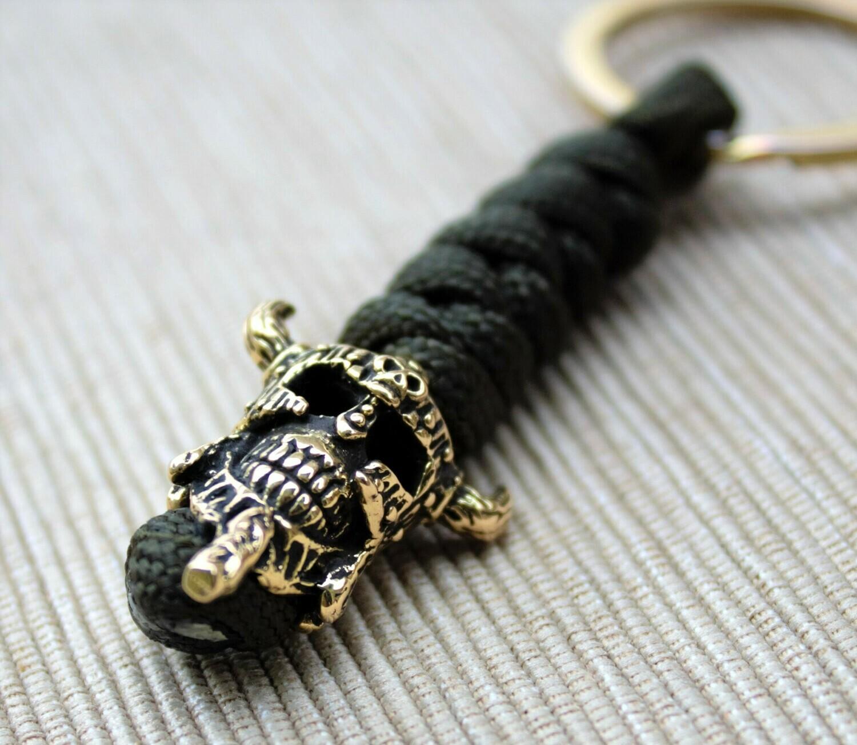 Viking Skull Keychain