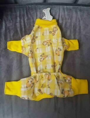 YELLOW SHEEP DOG PAJAMA