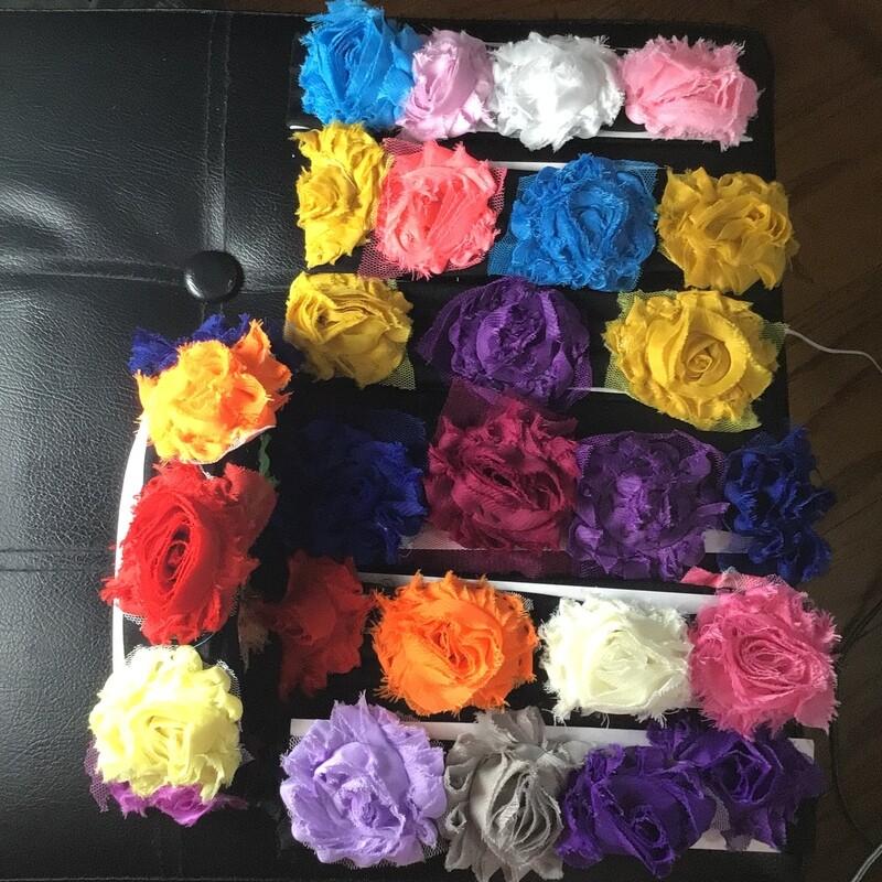 Flower headband, Pride colors