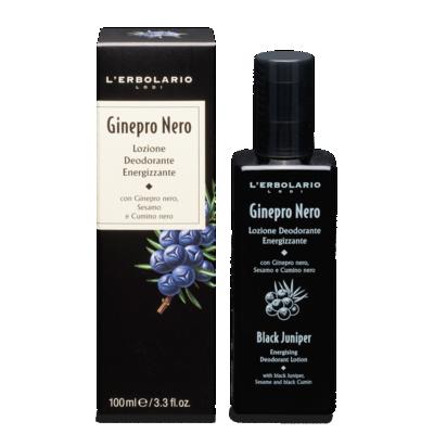 Lozione Deodorante Energizzante Ginepro Nero 100 ml
