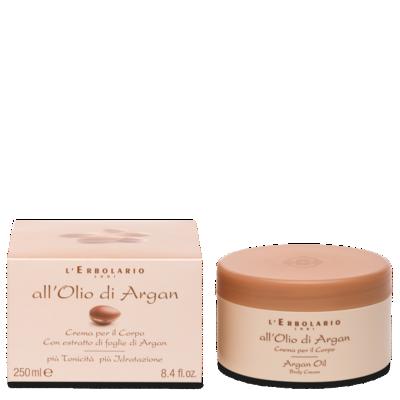 Crema Corpo All'Olio di Argan 250 ml