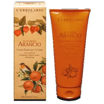 Crema Fluida per il Corpo Accordo Arancio 200 ml