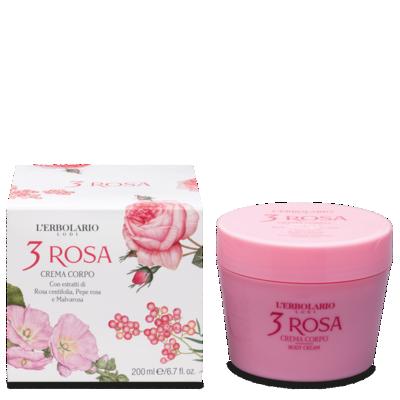 Crema Corpo 3 Rosa 200 ml