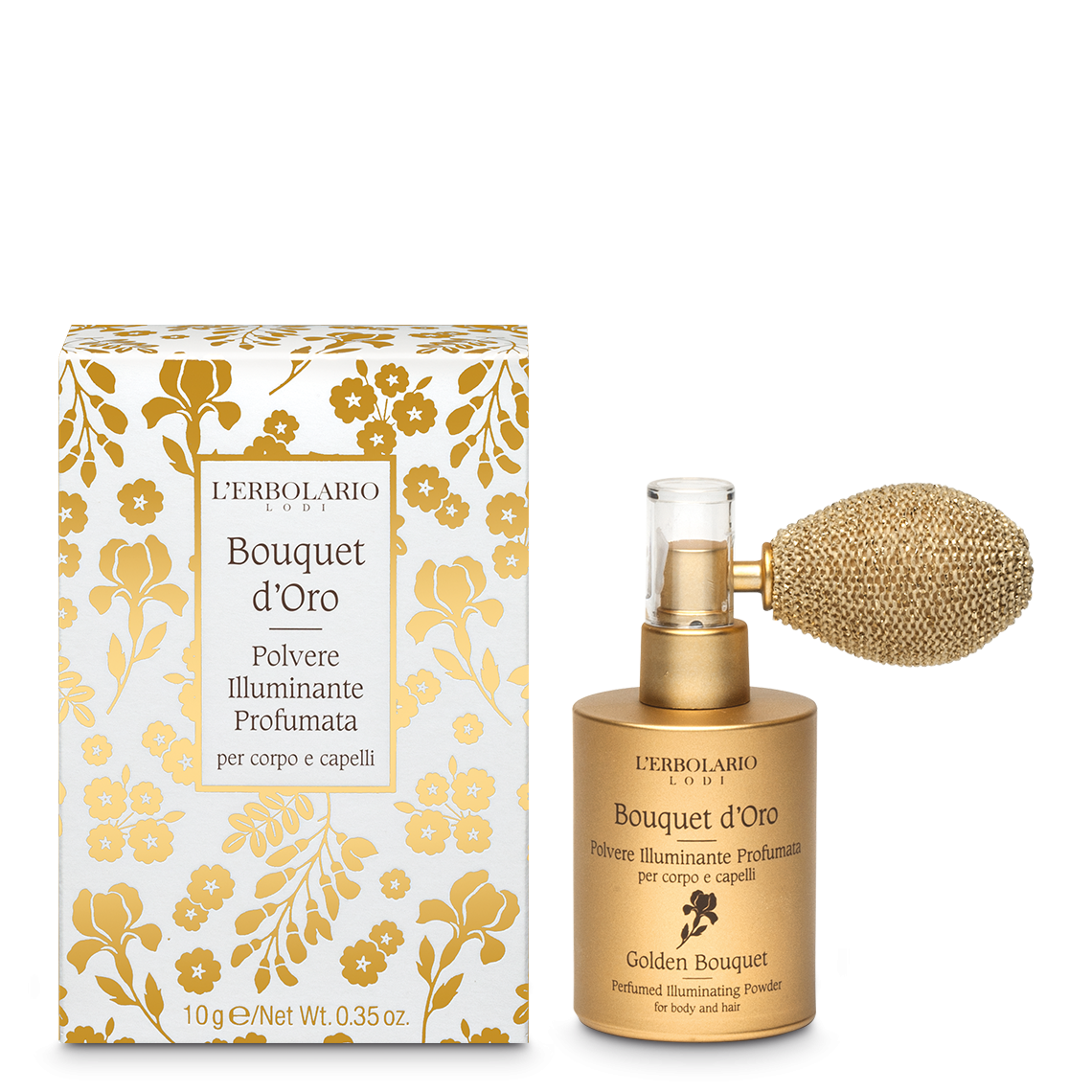 Polvere Illuminante Profumata Bouquet d'Oro