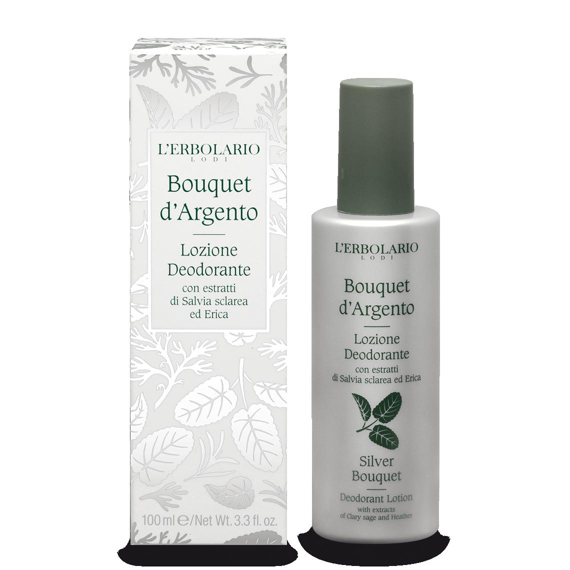 Lozione Deodorante Bouquet d'Argento 100 ml