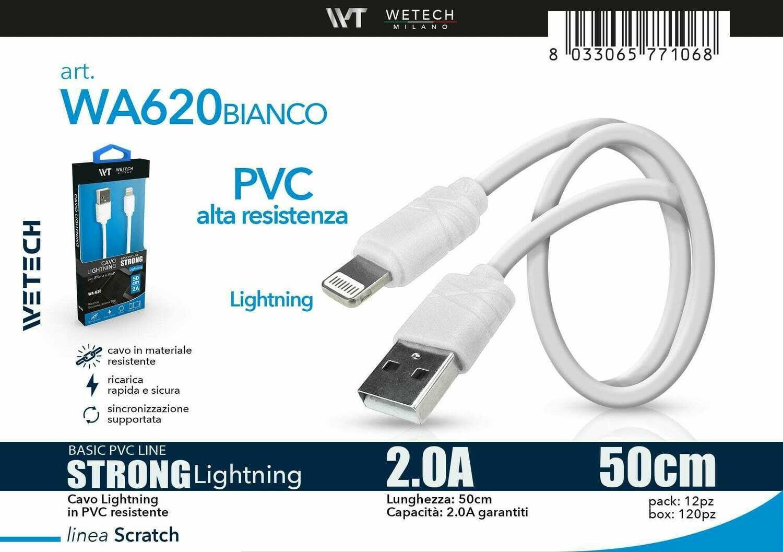 8033065771068 CAVO LIGHTNING BASIC 2A 50CM
