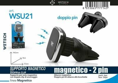 8033065777145 SUPPORTO AUTO MAGNETICO CON DOPPIO ATTACCO