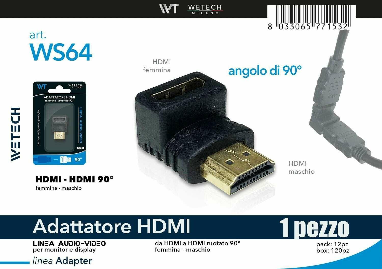 ADATTATORE HDMI 90? 8033065771532 ADATTATORE HDMI 90?