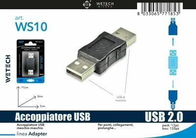 ACCOPPIATORE USB MASCHIO-MASCHIO 8033065771853 ACCOPPIATORE USB MASCHIO MASCHIO
