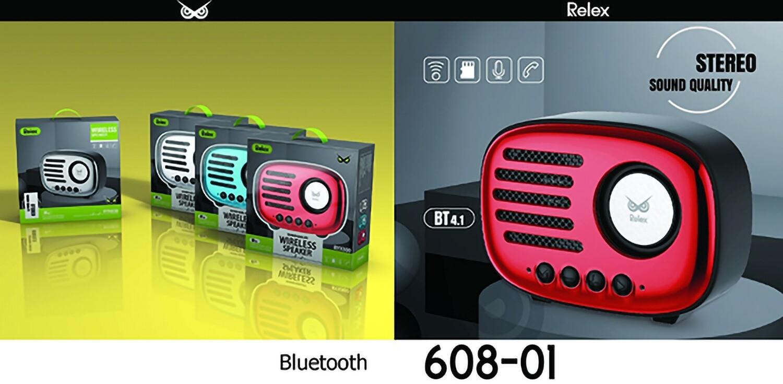 RELEX SPEAKER BLUETOOTH CROMATO ROSSO RYX800 8033065608029 RELEX SPEAKER BLUETOOTH CROMATO ROSSO RYX800
