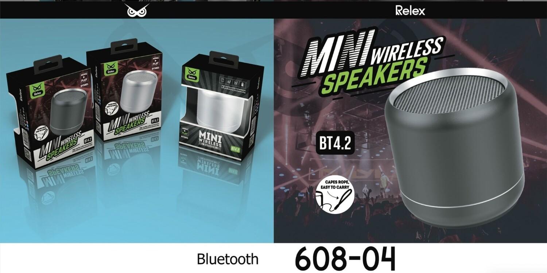 RELEX SPEAKER BLUETOOTH MINI METAL NERO RYX801 8033065608043 RELEX SPEAKER BLUETOOTH MINI METAL NERO RYX801