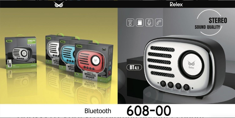 RELEX SPEAKER BLUETOOTH CROMATO ARGENTO RYX800 8033065608005 RELEX SPEAKER BLUETOOTH CROMATO ARGENTO RYX800