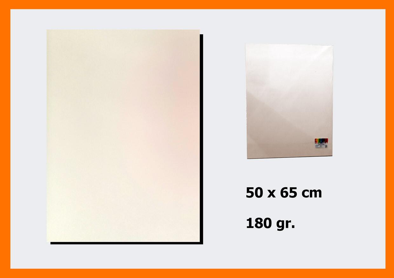 CARTONCINO CREMA 50X66CM 180G