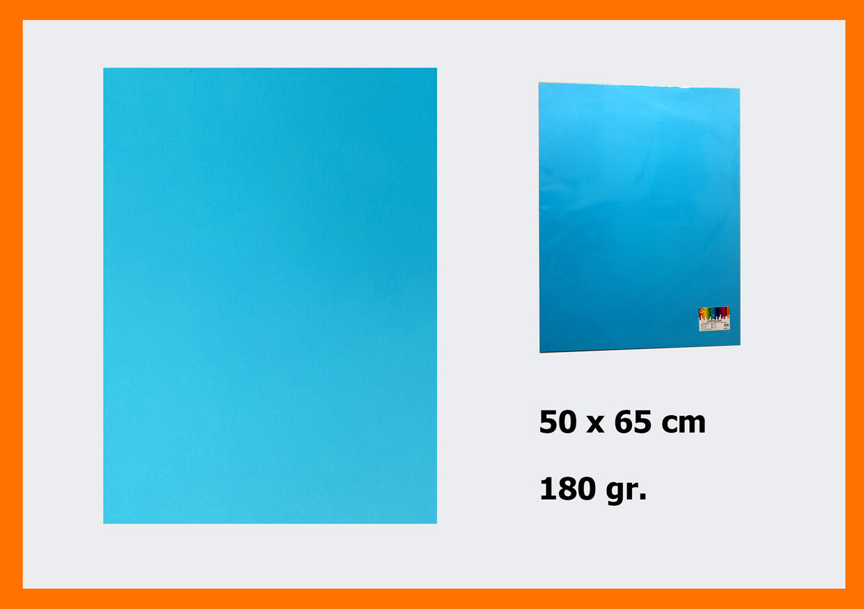 CARTONCINO BLU 50X65CM 180G