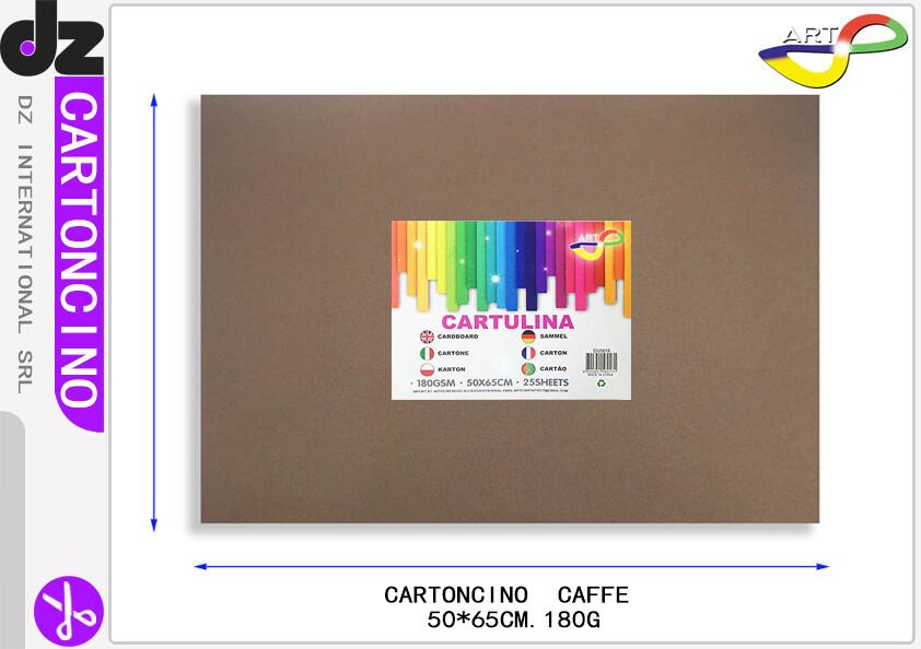 CARTONCINO CAFE 50X65CM 180G 25