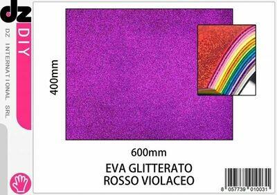 EVA 40X60CM GLITTER VIOLA