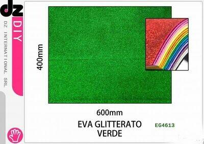 EVA 40X60CM GLITTER VERDE CHIARO