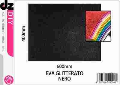 EVA NERA GLITTER 40X60CM