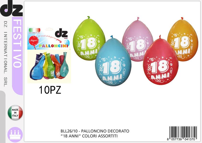 10 PALLONCINO 18 ANNI ASS.