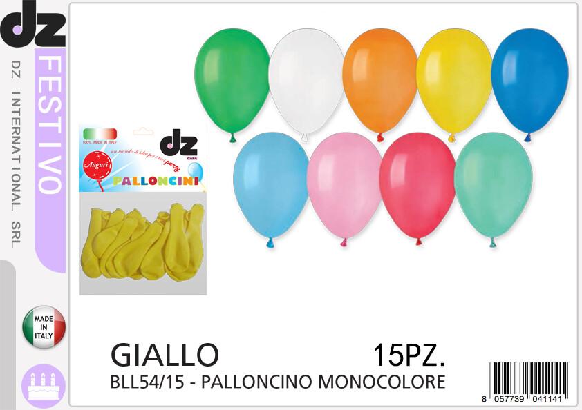 15 PALLONCINO GIALLO