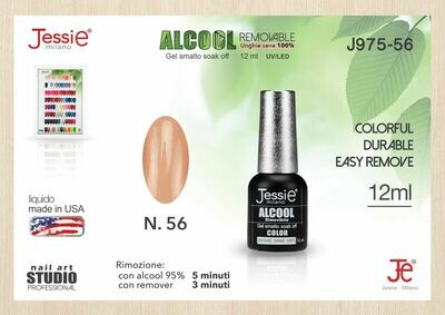 GEL SMALTO SOAK OFF COLOR 12ML ALCOOL-MANTIENI UNGHIE SANE