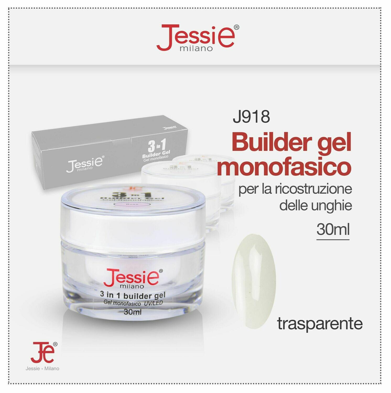 3 IN 1 BUILDER GEL MONOFASICO UV LED TRASPARENTE 30ML
