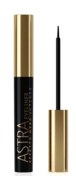 Eyeliner Effetto Nero Intenso (6ml) Tratto Sottile e Preciso