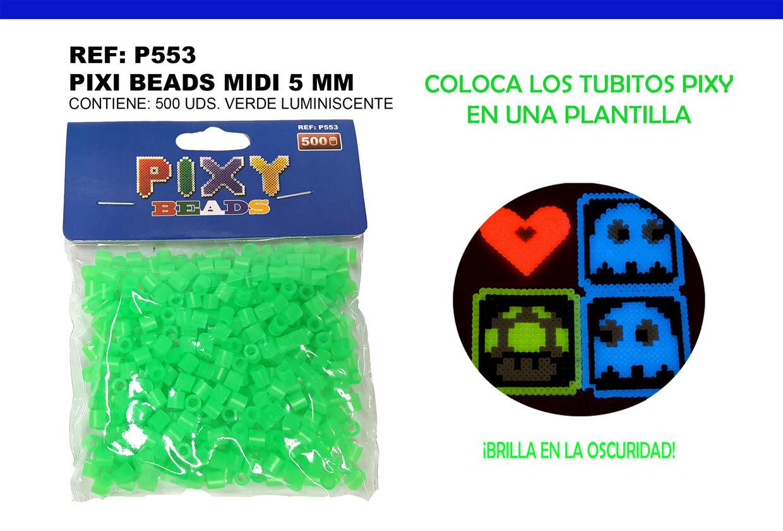 PIXY MIDI 5MM GREEN LUMINICENTES