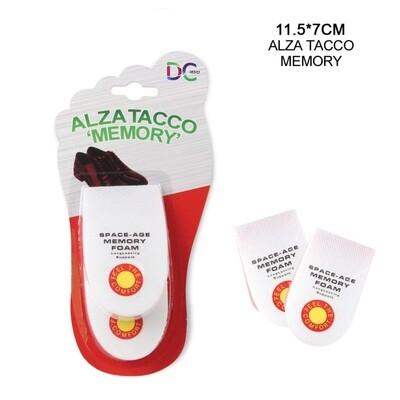 ALZATACCO MEMORY UOMO 11,5X7CM 2PZ