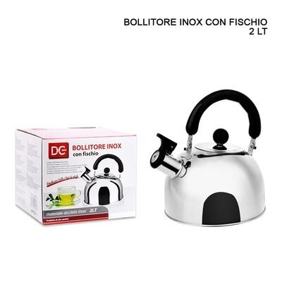 BOLLITORE INOX C/FISCHIO 2LT