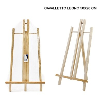 CAVALLETTO LEGNO 50X28CM